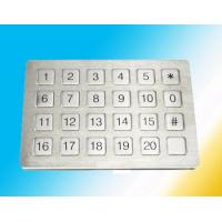 Wholesale Flat Surface Rugged numeric Metal Keypad Watertight Mounted Elevator from china suppliers
