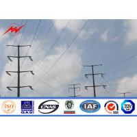 Buy cheap Power Transmission Poles For Electrical Line Project With Single Circuit from wholesalers