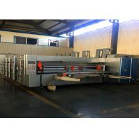 Wholesale Fully Automatic Flexo Printing Slotting Die Cutting Machine / Carton Board Multi Colors Printing Machine from china suppliers