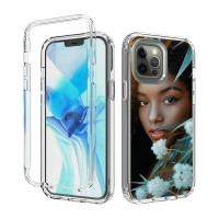 Buy cheap Polycarbonate CDR Logo Clear Customized Iphone Cases from wholesalers