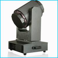 China Aluminum Alloy Cover LED Beam Moving Head Light / Sky Seachlight Rainproof wholesale