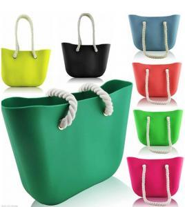 China silicone beach bag wholesale