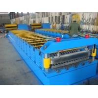 Wholesale Corrugated Steel Metal Roll Forming Machine with Speeds Up to 30 m / min from china suppliers