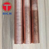 Wholesale Round Copper Coated Alloy Steel Pipe Heat Exchanger Iow Finned Tube from TORICH from china suppliers