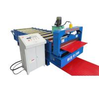 Buy cheap Steel Silo Corrugated Roll Forming Machine For Roof Sheet from wholesalers