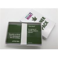 Wholesale Classic Party Games What Do You Meme Card Game Packaged With Delicate Color Box from china suppliers
