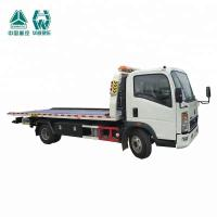 Wholesale LHD Flat Bed Wrecker Tow Truck For Moving Indisposed Motor Vehicles 7600X2500X2650mm from china suppliers