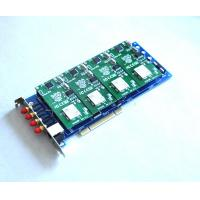 China 4 gsm Channels GOIP4  asterisk card for voip gateway with PCI interface on sale
