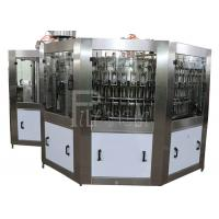 Wholesale PET Plastic Glass 3 In 1 Monobloc Soft Drink Processing Line Emergency stop function from china suppliers