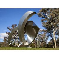 Wholesale Garden Large Modern Abstract Stainless Steel Decorative Sculpture from china suppliers