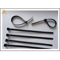 Wholesale Self-locking black UL ROHS CE 3.6 mm width nylon cable tie from china suppliers