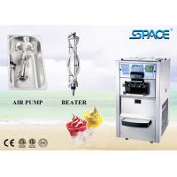 China Ice Cream Frozen Yogurt Maker 3 Flavors , Commercial Ice Cream Making Equipment on sale