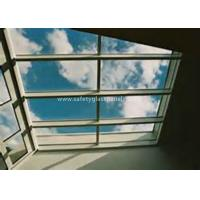 Wholesale Curtain Wall Glass Flat Laminated Safety Glass 5mm Toughened Glass from china suppliers