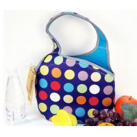 Wholesale Eco-friendly rectangle neoprene picnic lunch box with shoulder stap for food storage from china suppliers