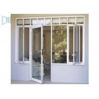 Residential Aluminium Swing Door , 70 Series Interior Aluminium Hinged Doors