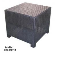 Images Outdoor Folding Side Table On Weatherproof Wood Furniture