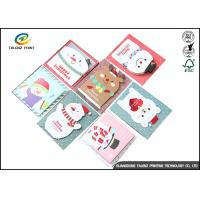 Wholesale Personalised Recycled Gaphic Paper Greeting Cards For Craft Gifts CMYK Color from china suppliers