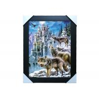 China CMYK Printing Image 3D Lenticular Printing Service PET / PP Animal Pictures wholesale