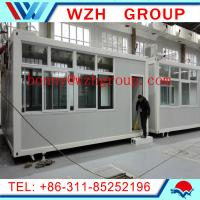 Wholesale prefab container house as shop from china suppliers