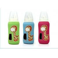 Buy cheap neoprene milk baby glass bottle cooler bag, a small window for checking milk from wholesalers