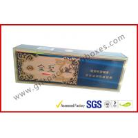 Wholesale China Brand Golden Cigar Gift Box With CMYK Print Sliver Paper from china suppliers