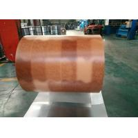 Printing Color Prepainted Galvalume Steel Coil 55% Wooden Brick Pattern