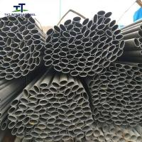 Wholesale Non - Alloy Oval Metal Tube , Flat Sided Oval Stainless Steel Tube Structure Pipe from china suppliers