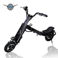 Wholesale Pink / Black Halley Folding Electric Scooter , Mini Electric Bicycle DC 36V from china suppliers