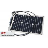 Water-Proof Sun power Semi Flexible Solar Panel Pv Ceiling For RV ,Marine