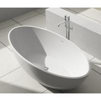 Wholesale Stable Small Freestanding Soaking Tub Stand Alone Bathtubs 134KGS from china suppliers