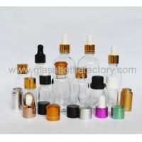 Transparent Essential Oil Glass Bottles With New Caps and Droppers
