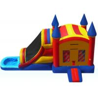 Wholesale Funny Inflatable Bouncer Combo WIith Water Slide  , Toddler Blow Up Fun House from china suppliers