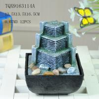 Wholesale Small Artificial Hill Polyresin Water Fountain For Indoor Desk Decoration from china suppliers