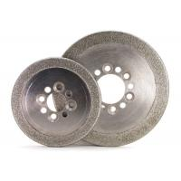 Wholesale Round Edge Electroplated Diamond CBN Grinding Wheels ISO9001 Certification from china suppliers