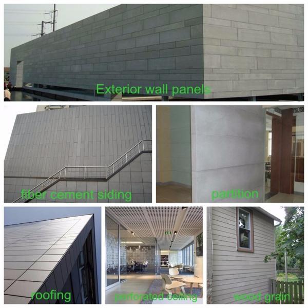 High Density Fiber Cement Board , Fiber Cement Siding , Fiber Cement Facade panel