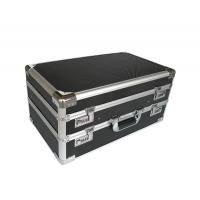 Wholesale Aluminum double opened twin case with black diamond aluminum panel from china suppliers
