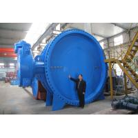 A Type Double Flange Manual Butterfly Valve