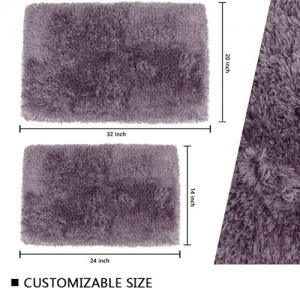 Wholesale Rectangle Yarn Weight 1310GSM Luxury SPA Bath Rugs Water Absorbent Bathroom Mat from china suppliers