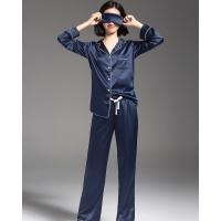 e0cc524d50fb ... Quality zk 100% silk Womens Satin Pajamas