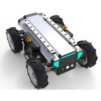Wholesale Rlsdp 1.0 Wireless Control 4wd 50kgs Wheeled Robot Chassis from china suppliers