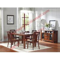 High Quality Solid Wooden Furniture Dining Table with Chair