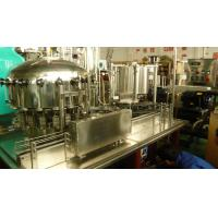 Wholesale Automatic monoblock beer / carbonated / soda beverage can filling and seaming machine from china suppliers