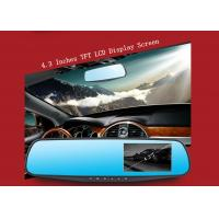 Wholesale Dual lens Car Camera Android Car DVR with Full HD 1080P 4.3 inch Display Screen from china suppliers