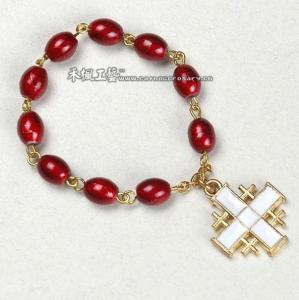 Buy cheap finger rosary,glass finger rosary,pray finger rosary,rosary ring from wholesalers