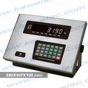 Kazakstan buy digital weighing indicator XK3190-DS3, DHM9BD10-C3-40t-12B3 ZEMIC load cell
