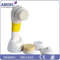 China Portable Home Facial Massage Machine , Pro Sonic 	Electric Facial Cleansing Brush For Bathroom wholesale