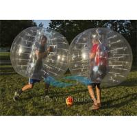 Wholesale Commercial Football Inflatable Body Bubble Zorb Bumper Ball 1.8m Dia from china suppliers