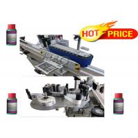 Wholesale Automatic stick self adhesive bottle round bottle labeling machine for factory from china suppliers