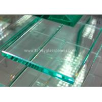 China Sightseeing Elevator Laminated Safety Glass Low-iron with 12.76--25.52mm wholesale