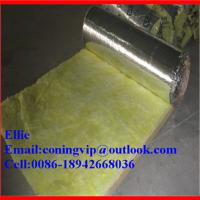 Wholesale 16Kg/m3X38mm Fiber glass wool blanket for duct insulation from china suppliers